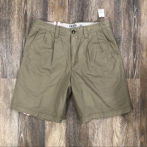 Izod Saltwater Shorts Cedarwood Khaki with TAGS